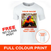 Custom Personalised Image Photo Printed Stag Hen T-Shirt Tee Top CHRISTMAS GIFT
