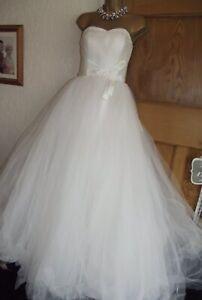 FABULOUS ❤️ Viva Bride Fairytale Cinderella Wedding Dress Size 8-10 ( poss 12)