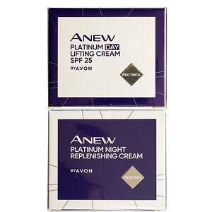 Avon Anew Platinum Day Cream, Night Cream, Eye Cream - buy 1 or full collection