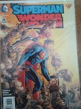 Superman / Wonder Woman #28 *Variant John Romita Jr Cover*DC 2016