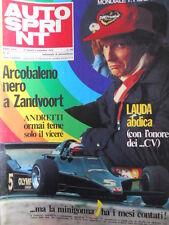 Autosprint n°35 1978  Niki Lauda [P27]