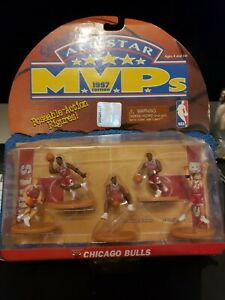 New Galoob's All Star Chicago Bulls MVP's 1997 Edition Poseable -Action Figures