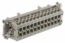 Han E Series size 48 B Connector Insert, Female, 25 Way, 16A, 500 V
