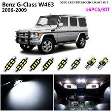16Bulbs Super White 6000K Interior Light Kit LED Fit 2006-2009 Benz G-Class W463