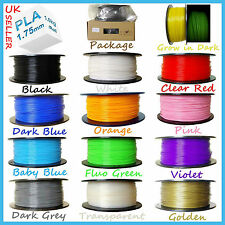 Filament PLA ABS 1.75mm/3mm 3D Print Printing Material Printer Pen Project 1kg/R
