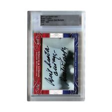 Buster Crabbe 2017 Leaf Sports Icons Cut Signature Autograph Card 1/1