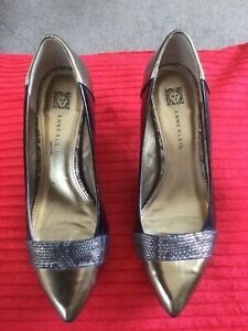 Anna Klein Ladies Designer Evening Shoes Size 4