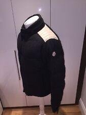 Moncler Montcenis Bomber Jacket Sz 7 XXL Grey Wool RRP £729 Hooded Coat