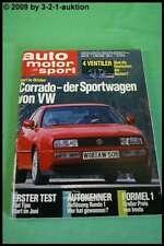 AMS Auto Motor Sport 10/88 * BMW 535i Irmscher GT Corrado Lancia 8.32 Mazda 121