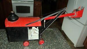 Marion Steelcraft Antique Toy Tin Steam shovel