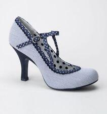 Scarpe da donna Mary Jane blu  3b145d22d84