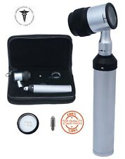 PROFESSIONAL DIAGNOSTIC DERMATOSCOPE SILVER OPTIC WITH EXTRA BULB