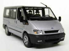 Minichamps 1/43 Scale Ford Transit MK6 Euroline Bus 2000 Silve Diecast model Car