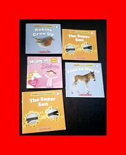 ☆SET 5 TEACH HOW-TO READING BOOKLETS-I CAN READ SCHOLASTIC SCIENCE+PINKALICIOUS☆