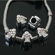 10pcs Tibetan Silver angel spacer Beads Fit European charm  Bracelet  L0095