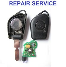 Peugeot 106 1 button Remote Key Fob Repair Service Including New Rubber
