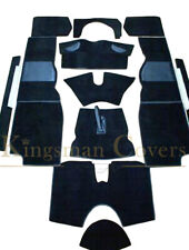 LUXURY KINGSMAN COVERS TRIUMPH TR4A/5/6 CARPET SET 1961-1976 4 COLOUR VARIATION