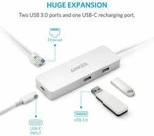 Anker Premium USB-C Hub Ethernet & Power Delivery 2 USB 3.1 A8302041