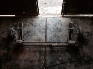 peugeot 205 1.6 / 1.9 gti rear axle beam drum type good condition fits all 205