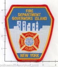New York City NY Fire Dept Governor's Island Patch v2