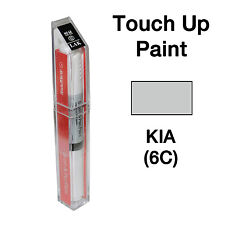 KIA OEM Brush&Pen Touch Up Paint Color Code : 6C - Clear Silver