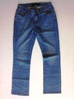 Calvin Klein Lowrise Bootcut Jeans Hose Dunkelblau Stonewashed W32 L32