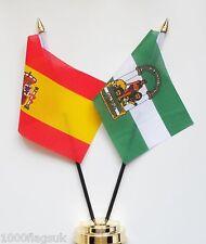 España Estado & España Andalucía Juego de banderitas de amistad