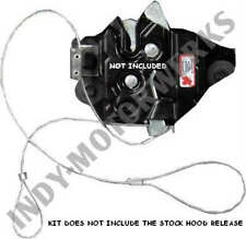 C5 97-04 CORVETTE EMERGENCY HOOD RELEASE CABLE KIT PROTECTION IF STOCK FAILS