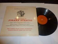 Il VALZER DI JOHANN STRAUSS anni 1960 UK READER'S DIGEST etichetta Stereo VINILE LP.