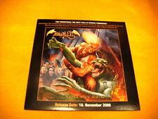 Cardsleeve Full CD ZANDELLE Vengeance Rising PROMO 11TR 2006 heavy metal