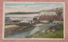 Power Plant & Dam, Great Falls, Montana