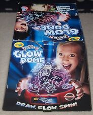 CRAYOLA GLOW DOME ~ CRAYOLA COLOR EXPLOSION ~ DRAW ~ GLOW ~ SPIN