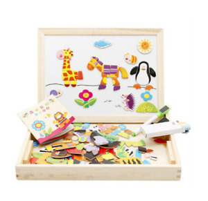 Multifunctional Magnetic Kids Puzzle Drawing Board Educational Toys Learning