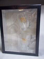 BAILEYS Irish Cream Liquer Glass Coffee Beverage Mug Set Of TWO New In Box