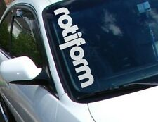 ROTIFORM VW Volkswagen Decals Windshiel Banners Car Stickers