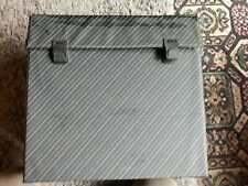 Vintage 12 inch/LP Record Case holds approx 50 records.