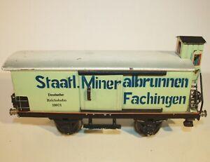 Märklin 1997 Mineralwasserwagen Fachingen (Baujahr 1929 - 1937) Spur 1