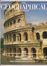 the geographical magazine-APR 1987-ITALY-MODERN NATION IN AN ANCIENT LAND.