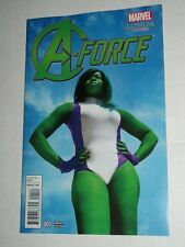 Marvel A-FORCE #1 1:15 She-Hulk Cosplay Variant NM