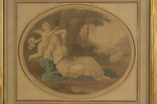 Angelica KAUFFMAN (1741-1807): Farbradierung Cupid binding Aglaia to a Laurel