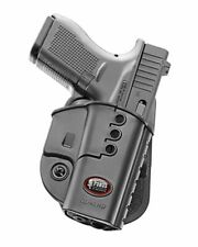New Fobus Model GL-43ND Right Hand Black Paddle Holster For Glock 43