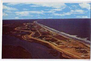 WALLOPS ISLAND VA nr Chincoteague NASA Launch Facility c postcard