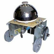 KitsUSA K-6900 CHROME DOME LINE TRACING ROBOT DIY KIT (solder version) Ages 13+