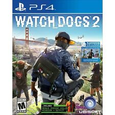 PS4 Watch Dogs 2 Brand New Factory Sealed Playstation 4