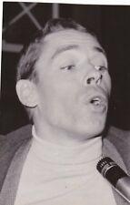 PHOTOGRAPHIE ORIGINALE du chanteur Jacques Brel Universal photo