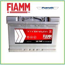 BATTERIA AUTO FIAMM TITANIUM PRO 74AH 680A EN POSITIVO DX 7905154