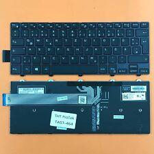 DEUTSCHE - Tastatur Keyboard mit Beleuchtung komp. für DELL Inspiron 14-5447