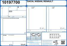 Cylinder Head Gasket Set RENAULT CLIO III DCI 1.5 75 K9K-770 (8/2010-)