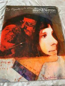 Bill Sienkiewicz Sketchbook 2012 Moon Knight New Mutants Electra