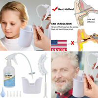 Ear Wax Removal Kit For Ear Irrigation Ear Washer Bottle System Ear Cleaning US